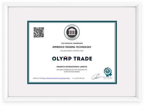 Κανονισμοί Olymp Trade